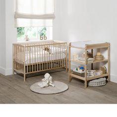 Lit bébé à sommier modulable 2 hauteurs, Tellie La Redoute Interieurs | La Redoute Mobile
