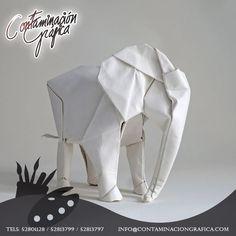 #SabíasQue El papel es de los elementos más nobles para ayudar a volar la imaginación con #Origami, el arte de obtener figuras sin tijeras o pegamento, solo dobleces.