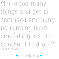 Love this! So ME!! #fallingstars #quote #inspire #love #allthingsbliss https://www.facebook.com/allthingsbliss