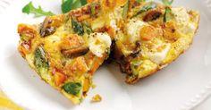Asparagus & sweet potato frittata #HealthyEggMeals