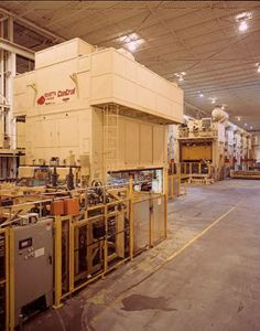 Central Stamping Ltd.'s large press