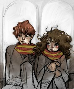 """Ron & Hermione Love"" - Alejandra Galadí Leiva (ALASXE)"