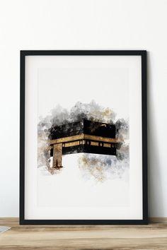 Art Discover Hajj Mabrur Umrah Mubarak Kaaba Mecca Mekkah Mecca Kobe Kabe Optional with personalization Umrah Mubarak, Islamic Decor, Islamic Wall Art, Mekka Islam, Mekkah, Islamic Art Pattern, Islamic Paintings, Islamic Art Calligraphy, Calligraphy Alphabet