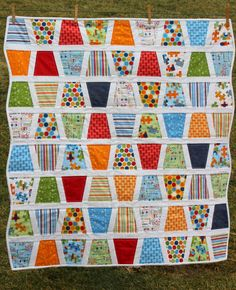 Baby Quilt Tumbler Quilt Pieces of Hope Riley Blake