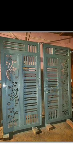 Iron Main Gate Design, Gate Wall Design, Front Gate Design, House Gate Design, Main Door Design, Steel Grill Design, Grill Gate Design, Steel Gate Design, Latest Gate Design