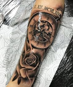 tattoo designs men forearm * tattoo designs ` tattoo designs men ` tattoo designs for women ` tattoo designs unique ` tattoo designs men forearm ` tattoo designs men sleeve ` tattoo designs drawings ` tattoo designs men arm Forarm Tattoos, Forearm Sleeve Tattoos, Full Sleeve Tattoos, Sleeve Tattoos For Women, Tattoo Sleeve Designs, Tattoo Designs Men, Face Tattoos, Clock Tattoo Design, Forearm Tattoo Design