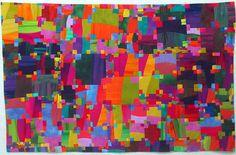 Cross Series: Machu Picchu by Melody Johnson Quilts, via Flickr