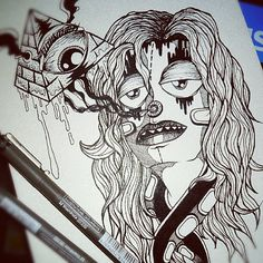 Eye of providence. (Work in progress) #illustration #drawing #pen #ink #sketchbook #doodle #art #designs #webstagram #wearejuxt #killsboredomdead #all_shots #instagram - @Paulo Correa- #webstagram