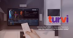 I'm cutting the cord with #Turvi. Find out why television is about to change…