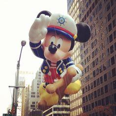A Harmonious Combination : Macy's Thanksgiving Day Parade 2012