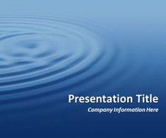 Ripples Blue PowerPoin Template is a free wavy PowerPoint template design that you can download for Microsoft PowerPoint presentations