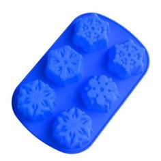 Silicone mold... I'm thinking ice cubes, or maybe sidewalk chalk for a Frozen party!
