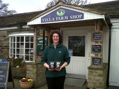 Sam at Villa Farm Shop, Huddersfield http://www.villafarmshop.co.uk/