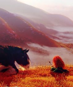 merida is probably my fav princess bc of her bravery and love for horses