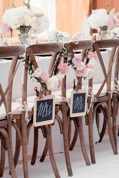 Garden Wedding Party Hochzeitskleid 2019 - wedding and engagement 2019 Wedding Chairs, Decoration Table, Wedding Reception Decorations, Reception Ideas, Wedding Groom, Bride Groom, Our Wedding, Party Wedding, Elegant Wedding