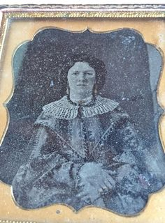 Original Ambrotype - 1850's Fashionable Lady by victoriansentiments on Etsy