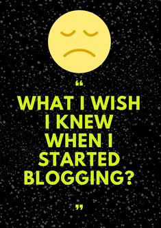 What Are the things that I have done wrong when I first started blogging? I am sharing my experience to help newbie bloggers avoid doing the mistakes that I did.