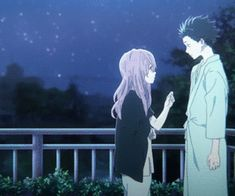 Image de gif, anime, and koe no katachi Koe No Katachi Anime, A Silence Voice, Hey Little Girl, The Art Of Listening, Silent Love, Instagram Frame Template, The Garden Of Words, Kyoto Animation, Kimi No Na Wa