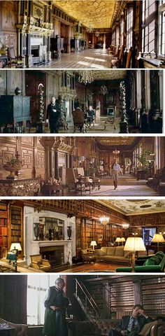 Hatfield House: Location for Tomb Raider, Sherlock Holmes, Tim Burton's Batman.  Plus 30 different credits including V for Vendetta, Shakespeare in Love, and Elizabeth: The Golden Age. #film