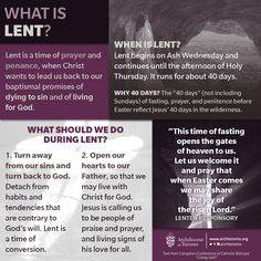 The season of prayer and penance begins today. Learn more about #Lent. http://www.archtoronto.org/lent  #catholic