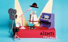 Aishti Minis. Children's clothing store in Lebanon. Sagmeister & Walsh.