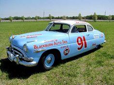 Tim Flock #91 Hudson Hornet  NASCAR. http://www.pinterest.com/jr88rules/old-school-nascar/ #OLDSCHOOLNASCAR