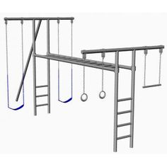 Steel Jungle Gym, costs nearly $2K!