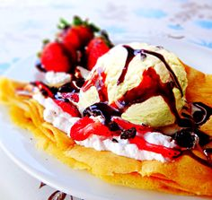 Simply Mix & Match your very own Ned's Special with a choice of your favourite Ice Cream, Fruit Sauce and Topping