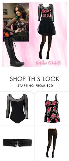 """""""Jade West"""" by manson-luv ❤ liked on Polyvore featuring Reverse, Talula, Victoria's Secret, Burberry, Cole Haan, CatWorld, jade west, victorious, liz gillies and elizabeth gillies"""