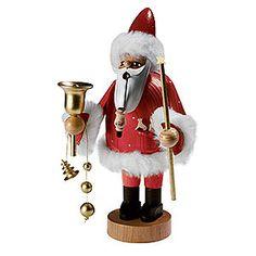 Der Geruch der Räucherkegel gehört zu Weihnachten einfach dazu! Die handgearbeiteten Räuchermännchen sind Teil der traditionellen deutschen Weihnachtsdeko.