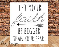 Bible Verse Inspirational faith no fear Let your by glorydesigns Fear Quotes Bible, Bible Verses, Motivational Words, Inspirational Quotes, Christian Quotes About Life, Printable Quotes, Religious Quotes, Work Inspiration, Words Of Encouragement