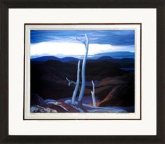 Evening, Lake Superior - Numbered By Artist | Group Of Seven | Framed Art | Wall Decor | Art | Picture | Home Decor