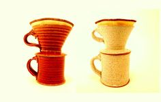 handmade Hario V60 pourover coffee dripper by OguskyCeramics, $65.00