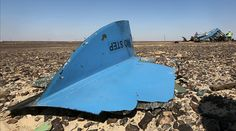 The debris from a Russian airliner is seen at its crash site at the Hassana area in Arish city, north Egypt, November 1, 2015. ©Mohamed Abd El Ghany