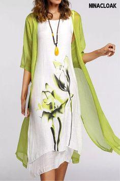 Long Sleeve Maxi, Maxi Dress With Sleeves, Dress Up, White Sleeveless Dress, Dress With Cardigan, Day Dresses, Dresses Online, Summer Dresses, Long Dresses
