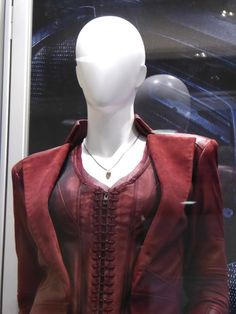 Scarlet Witch corset costume detail Captain America: Civil War