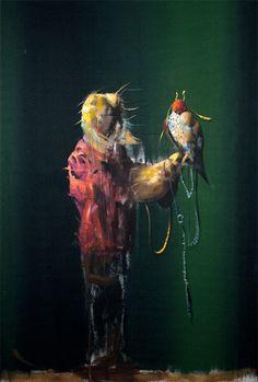 Håkon Gullvåg - Art Hakone, Past, Artsy, Birds, Contemporary, Future, Animals, Image, Past Tense