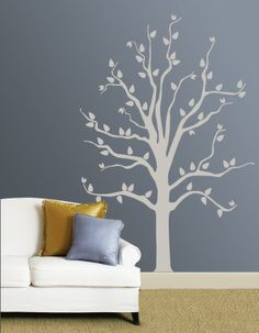 Wall decal is so cute!
