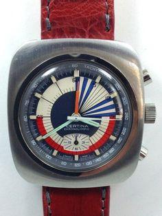 Certina Chronolympic Valjoux 72 Chronograph