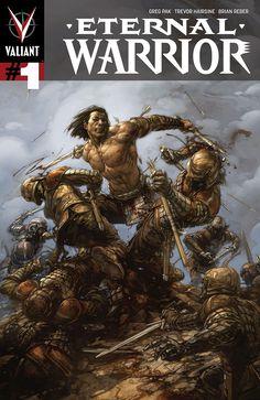 Here's your first look at Eternal Warrior by Greg Pak & Trevor Hairsine from Valiant Comics - on sale September Best Comic Books, Comic Books Art, Comic Art, Planet Hulk, Dc Comics, Warrior High, Avatar, Valiant Comics, Lol Pics