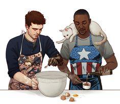 Avengers Fan Art, Marvel Fan Art, Marvel Jokes, Marvel Funny, Marvel Avengers, Bucky Barnes, Winter Soldier, X Men, Marvel Drawings