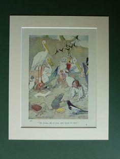 1930s Vintage Alice In Wonderland Print By Chas by PrimrosePrints, £12.00