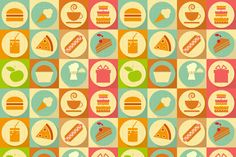 Flat Food by elfivetrov on Creative Market