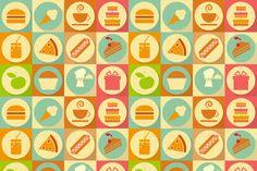 Flat Food by elfivetrov on Creative Market