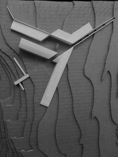 monastery study model by Paul Hayes Taylor, via Flickr