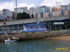 Club del mar de A Coruña ( Galia )