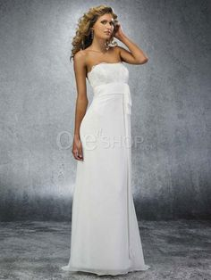 Def my style of wedding dress, perfect for my dream beach wedding. Bonus- Stupid cheap, perfect for ME :))