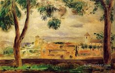 Pierre Auguste Renoir Cagnes oil painting reproductions for sale
