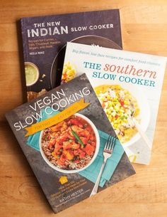 The Kitchn picked my book Vegan Slow Cooking for 2 in their 5 cookbooks to help you make something new in your slow cooker post!