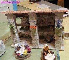 Un superbe lavoir, les santons sont de Céline de l'Oustau d'Antan Portal, Cecile, Decoration, Provence, Minis, Miniatures, Home Decor, Kiosk, Nativity Scenes